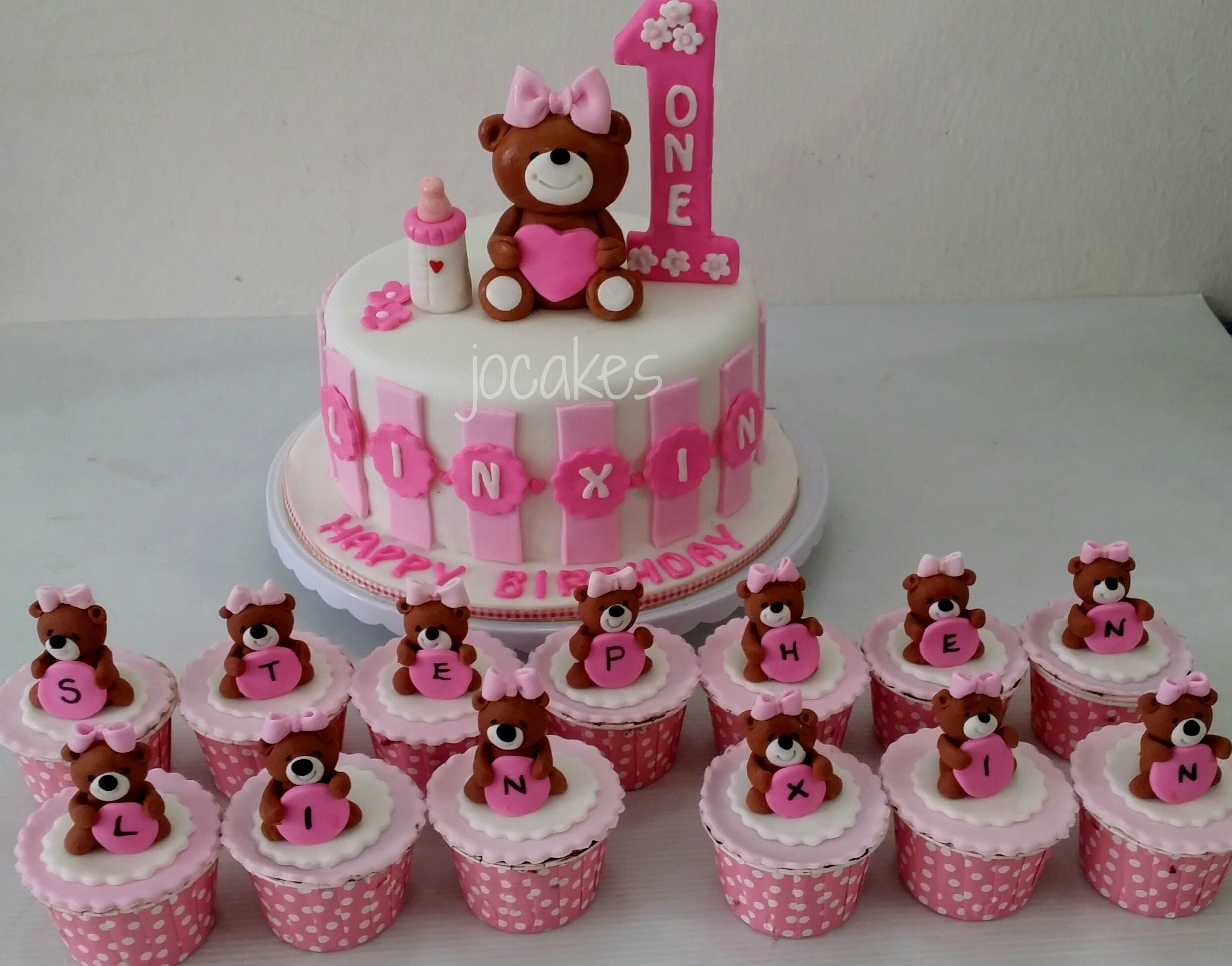 Cake Ideas For Toddler Girl Birthday : Birthday Cake For A Year Old Baby Girl Birthday cake ...
