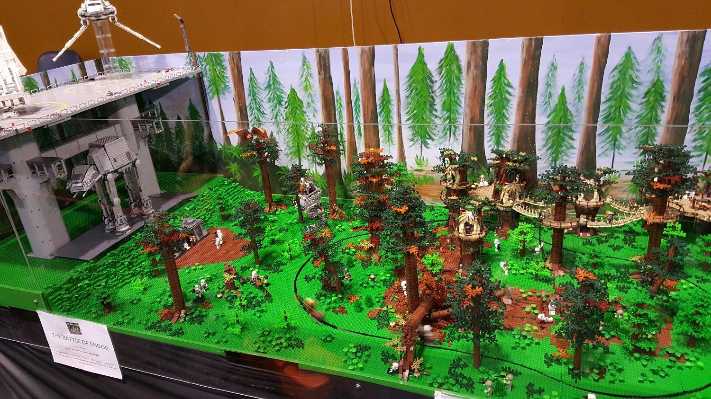 Image Result For Lego Star Wars Battle Of Endor Design Lego