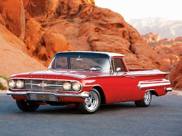 1960 Chevy El Camino 350 Engine Ah Chevrolet El Camino Hot