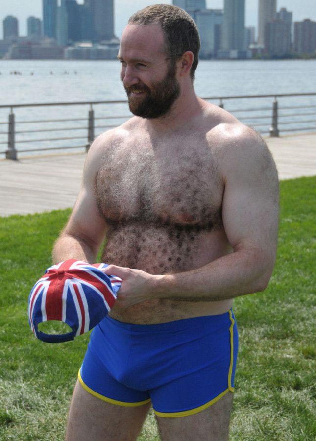 gaybears_Curly Belly-Hair Bear! Love those SHORT-Shorts! | Muscle Bears | Pinterest | Bears ...