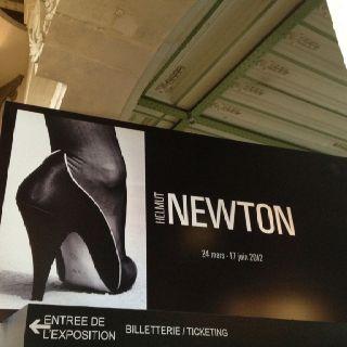 Helmut Newton Exposition