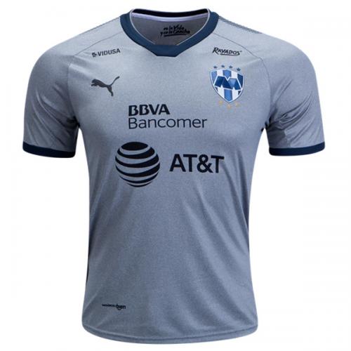 8c452b8b1d4 Club America Away Men Stadium Shirt. 2018 Monterrey Third Away Gray Soccer  Jersey Shirt