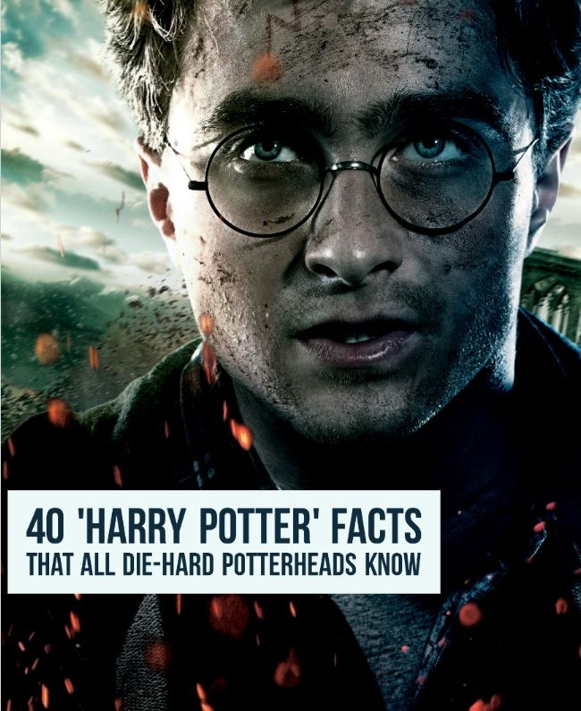 40 Harry Potter Facts That All Die Hard Potterheads Know Harry Potter Brille Harry Potter Fakten Harry Potter Quiz
