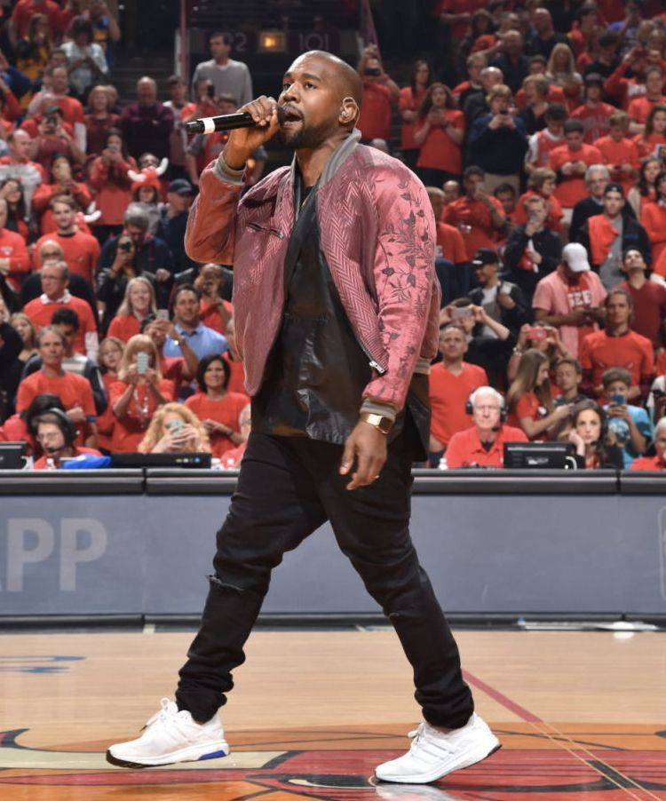 7f304a130 Kanye Wore This adidas Energy Boost ESM On Sunday