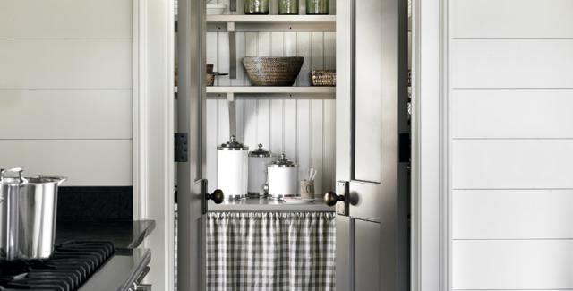 Country Chic | Atlanta Homes & Lifestyles. Walk-in pantry