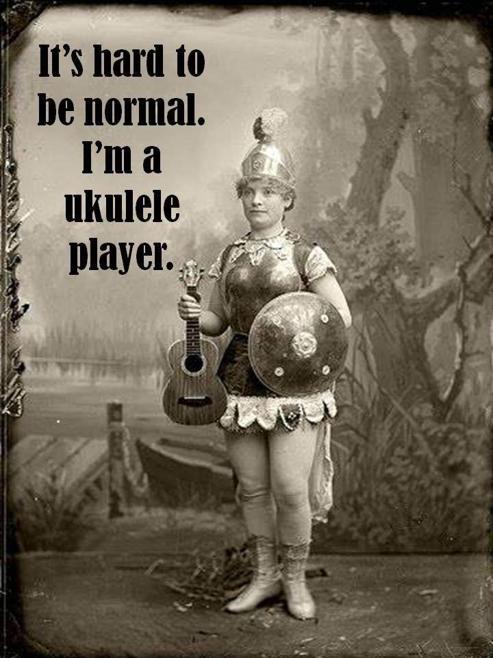 Uke players are cool.