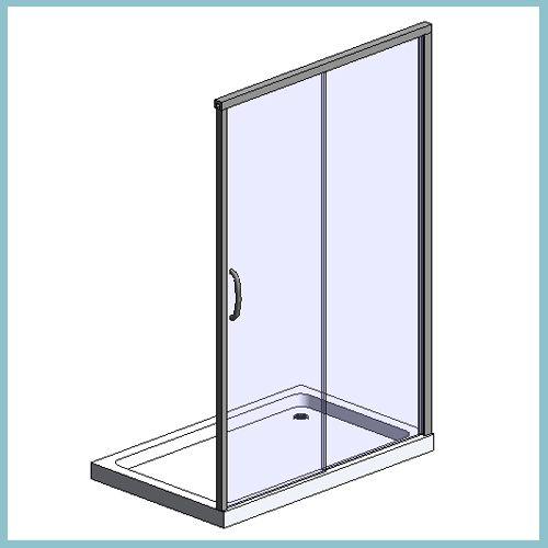 Sliding Door Enclosure (Autodesk Revit Architecture 2012 Families
