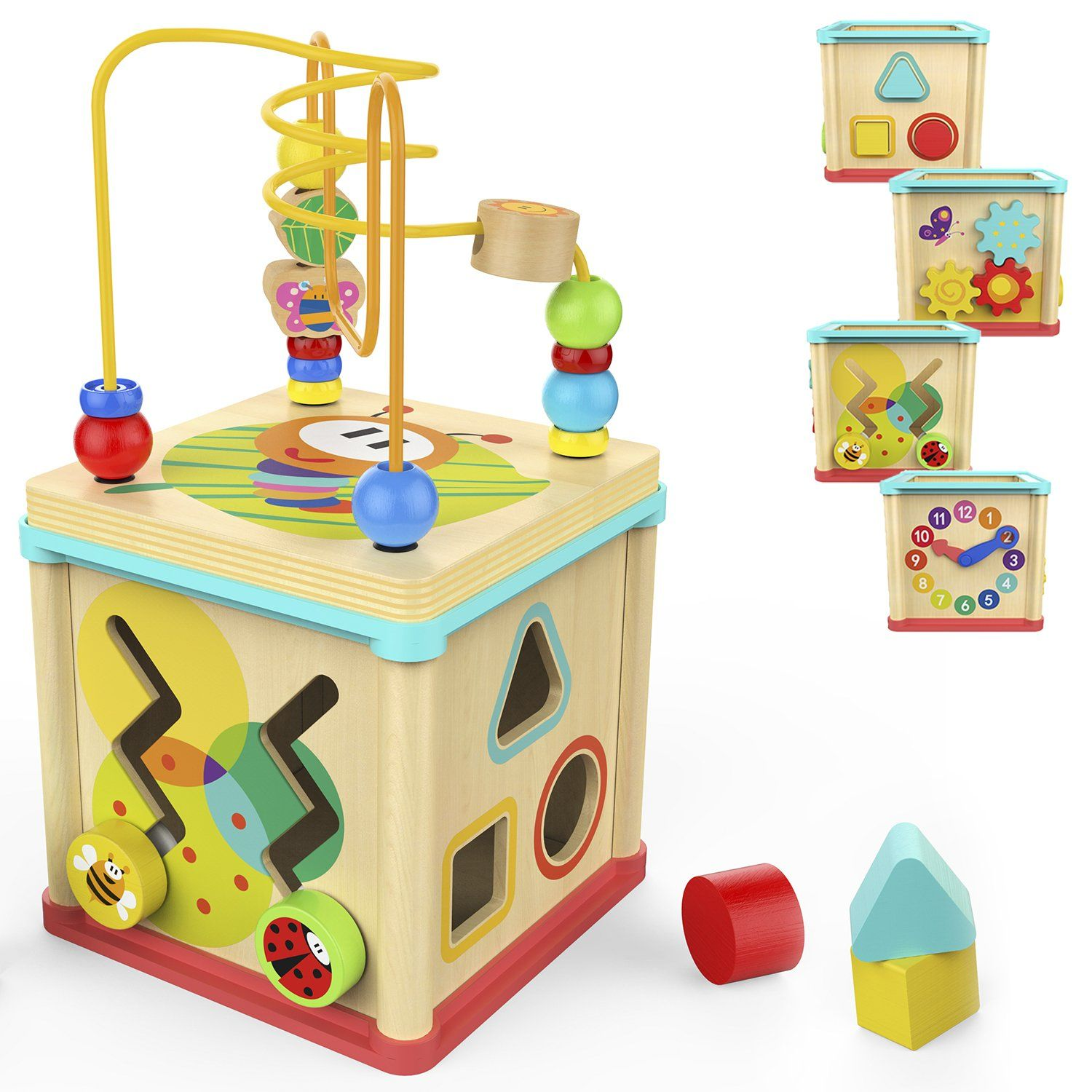 When Gaybie turns One TOP BRIGHT Activity Cube #baby