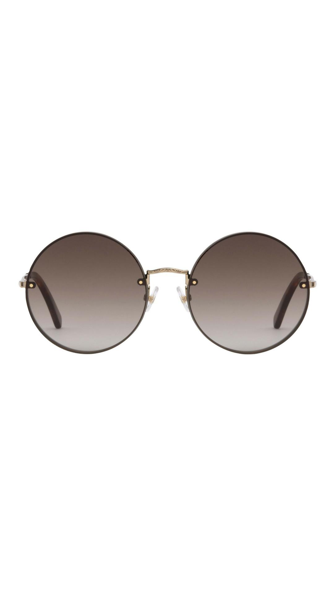 1fe4e8dfef Gloria Metal Round Sunglasses | Rebecca Minkoff, circle metal sunglasses,  designer sunglasses, gold circle sunglasses, gold round sunglasses, gold  metal ...
