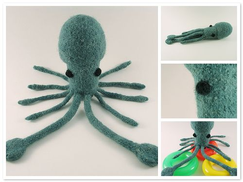 Free Knitted Amigurumi Pattern for a Squid | Knitting is my ...