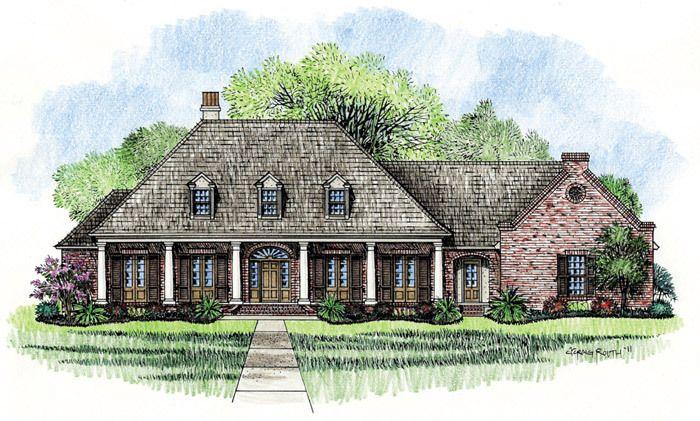Beautiful Acadian Home Design