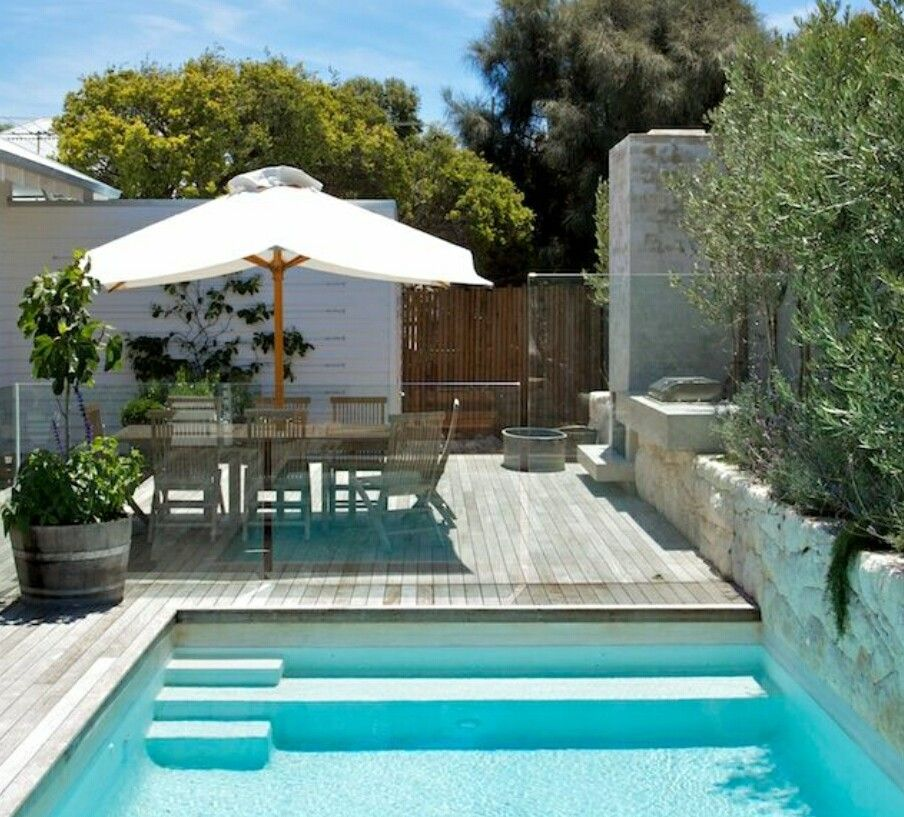 Pingl par wendy kingsmith sur small yard pools for Pinterest piscine