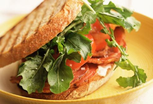 a better blt stack whole wheat bread with thick slices of tomato tasty