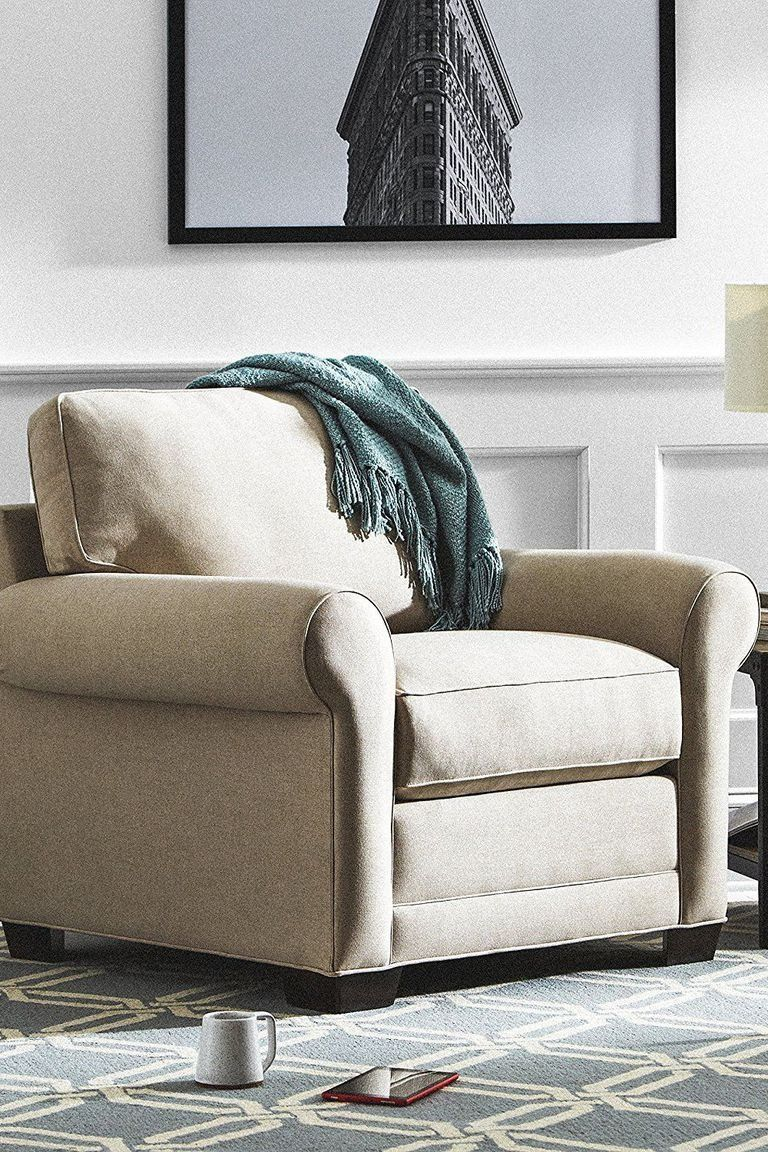 Small Comfortable Living Room Chair These Fy Chairs Are As Pretty As They Are Cozy In 2020 Comfortable Living Room Chairs Comfortable Living Rooms Comfy Chairs