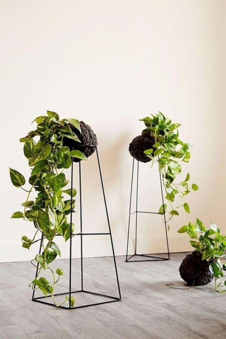 39 Modern Flower Pots Ideas For Indoor Use Decorhit Com Modern Flower Pots Id 39 Modern Flower Pots Ide In 2020 Plant Decor Indoor Plant Decor Plant Stand Decor