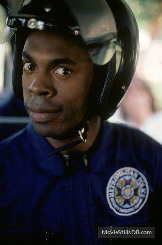 Police Academy Promo Shot Of Michael Winslow Police Academy Movie Michael Winslow Police Academy