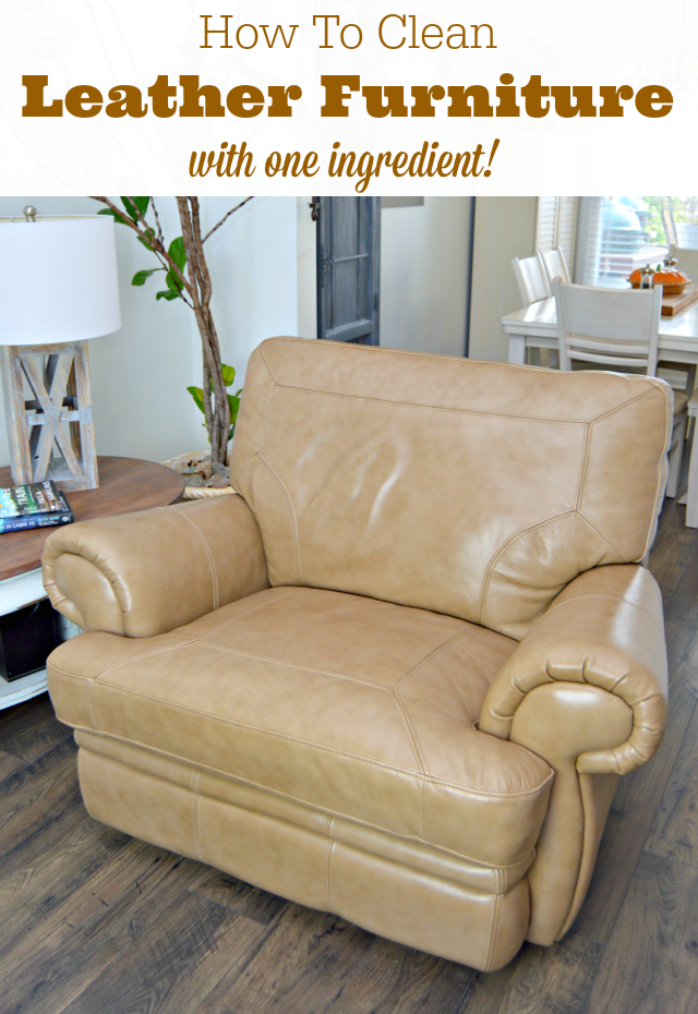 How To Clean Leather Furniture Naturally Leather Furniture