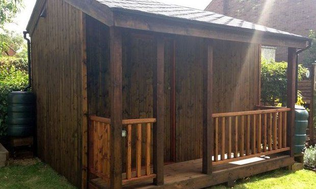 Lovely Shed with Basement