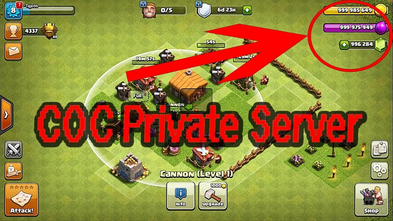 [Updated] Clash of Clans Private Server - APK Download No Root 2017