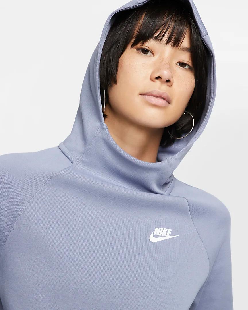 Nike Sportswear Tech Fleece Women S Pullover Hoodie Nike Com Hoodies Tech Fleece Pullover Hoodie [ 1080 x 864 Pixel ]