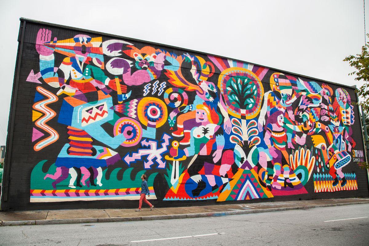 3TTman, Atlanta 2013. Living Walls.