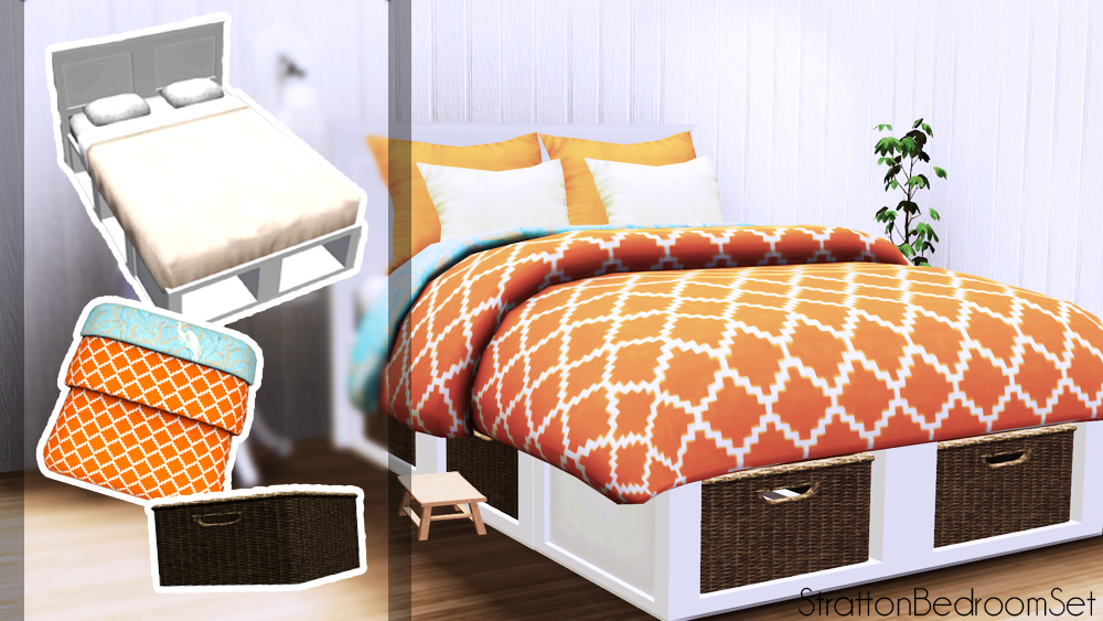 sunny cc finds loubellesims stratton bedroom set download