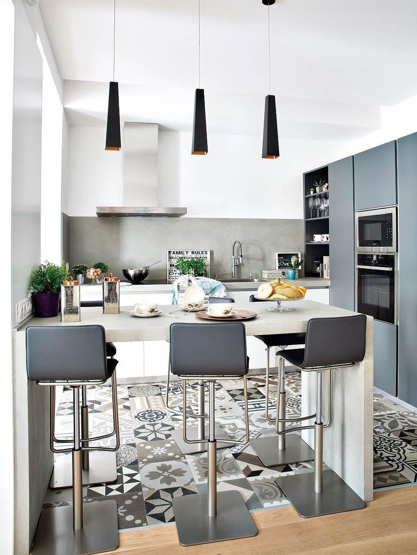 cuisine ouverte avec ilot central de luxe cuisines ilot central et cuisine blanche et bois avec