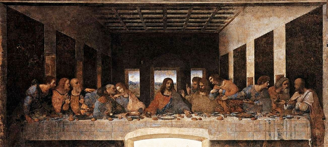 The Last Supper by Leonardo Da Vinci 1495 97