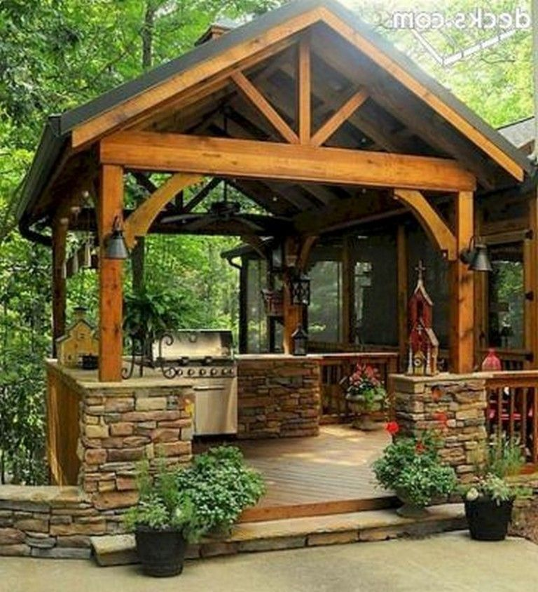 Remodeling Your Kitchen On A Budget Backyard Outdoor Living Outdoor Spaces