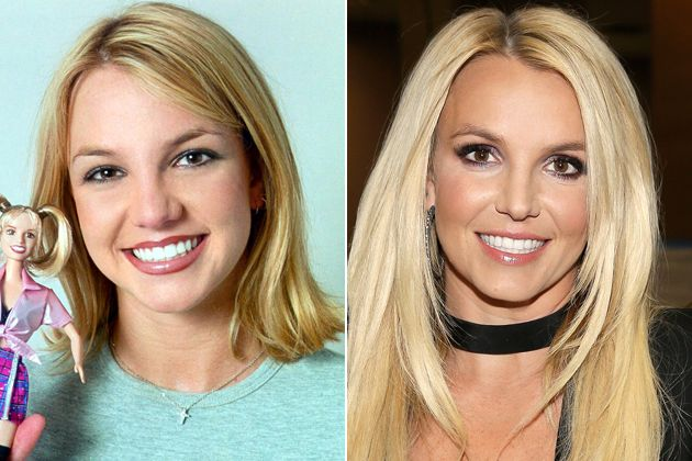 Image result for Britney Spears goes into photoshop or botox