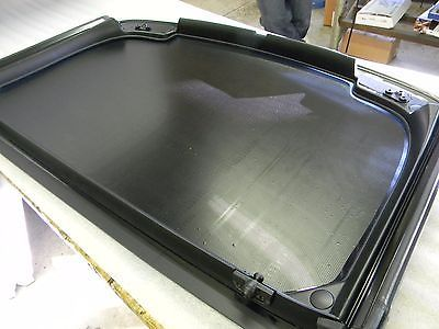 C4 Corvette Roof Top Panel Solar Cool Sun Shade Heat Barrier Static Cling Film Heat Barrier Solar Panels Static Cling