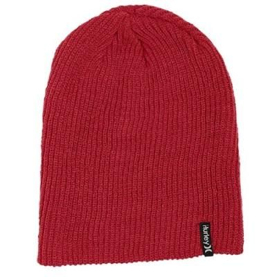 $21, Red Beanie: Shipshape Beanie Hot Red by Hurley. Sold by Eastbay. Click for more info: http://lookastic.com/men/shop_items/135572/redirect