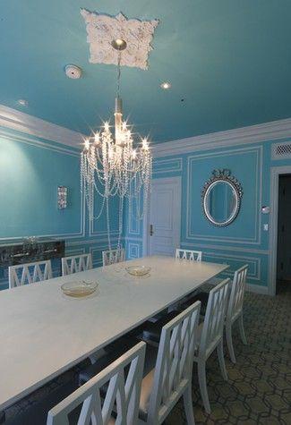 Room · Tiffany Blue Dining Room