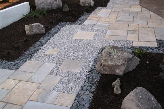 Flagstone Walkway Design Ideas flagstone walkways can make a beautiful all natural addition to a landscaping design 7 Walkway Ideas To Pump Up Your Curb Appeal Walkways That Talk