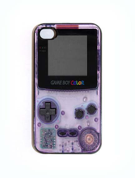 iPhone 4 4s Case Gameboy Color Hard iPhone Case by KustomCases, $15.00 @Christie Moffatt Moffatt Moffatt Chorzelewski