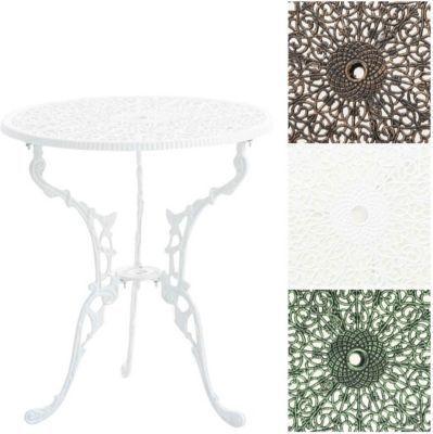 Tisch Divari Gartentisch Rund Durchmesser O 60 Cm Hohe 66 Cm