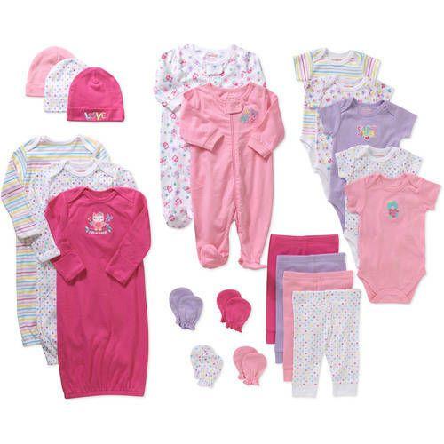 Newborn Clothes at Walmart   Garanimals Newborn Baby Girl Perfect ...