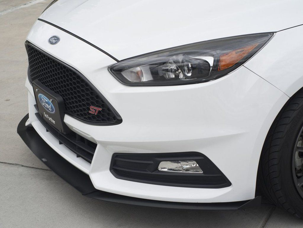 2015 Ford Focus St 3 Piece Front Splitter Fo P3l Fsp 11 Ford