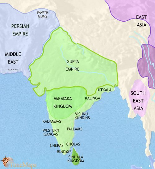 Map Of Asia In 500 Ad.History Map Of India And South Asia 500ad Maps History Of India