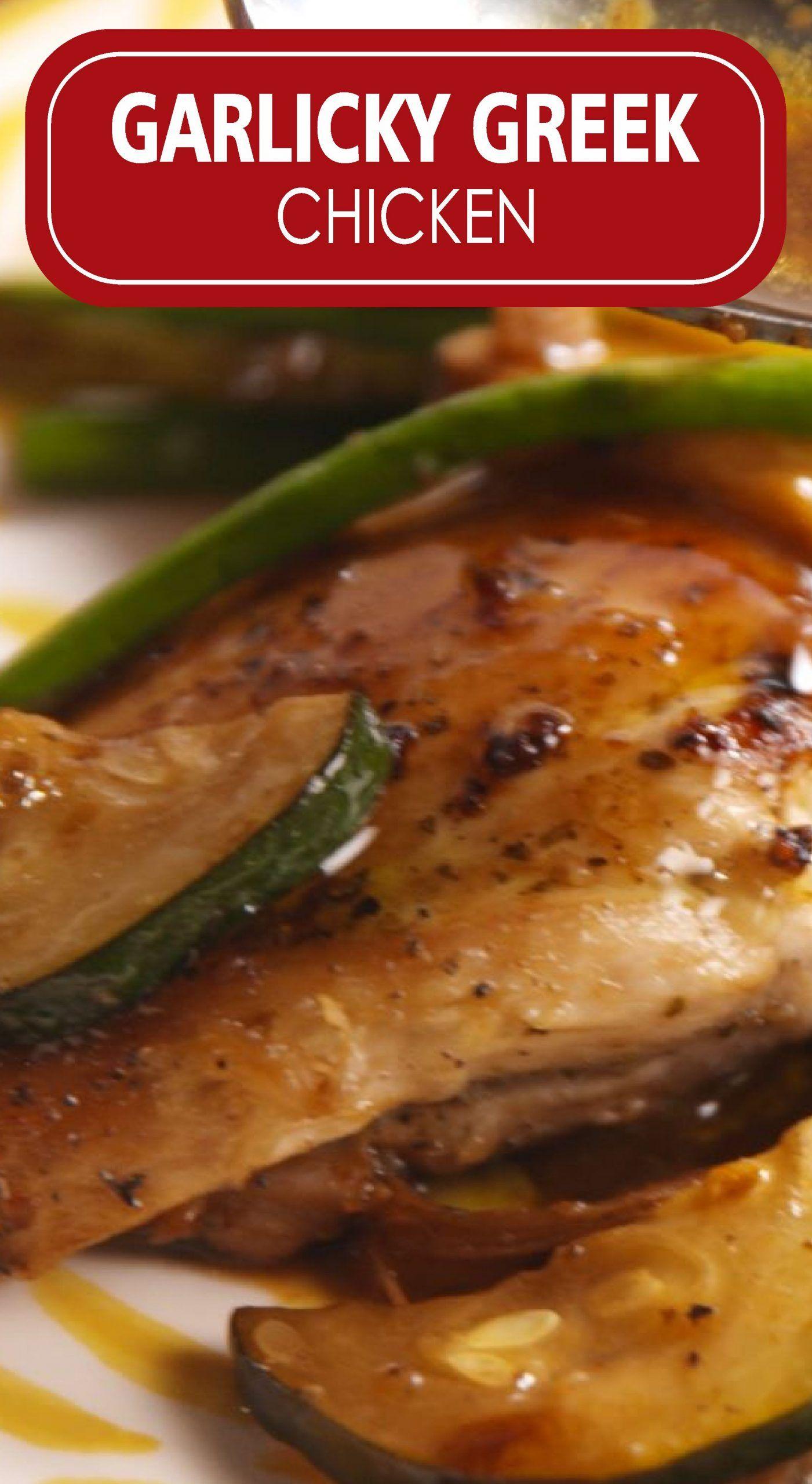 Photo of Easy Garlicky Greek Chicken Recipe