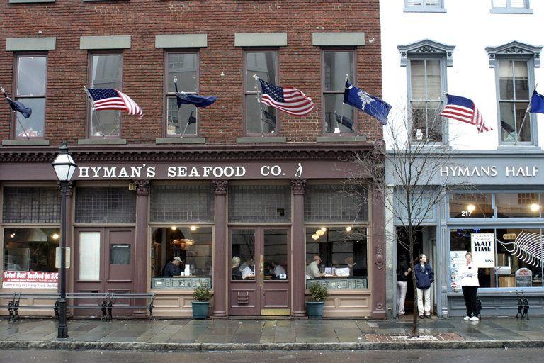 Restaurants Charleston Sc Charleston Sc Hyman S Seafood