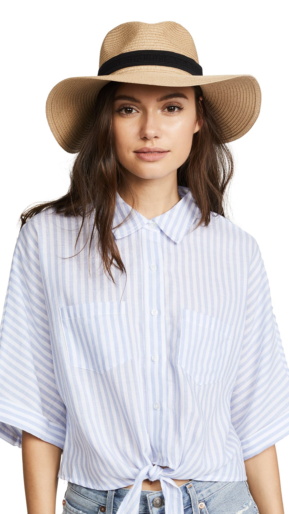 c1dcf1b5586e3 MADEWELL PACKABLE MESA STRAW HAT.  madewell