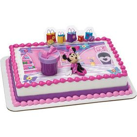 Minnie Hat Box PhotoCake DecoSet Cake Topper Yes We have this in