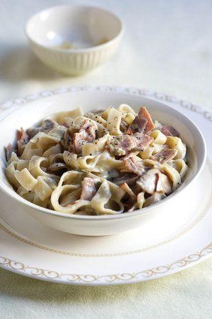 Tagliatelle Alfredo Tasty Pasta Tagliatelle How To Cook Pasta