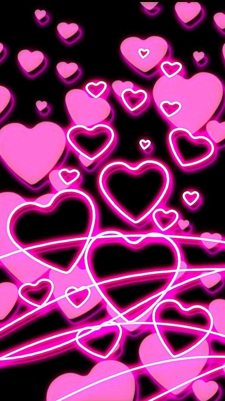 Lots of pink hearts heart s of love in 2019
