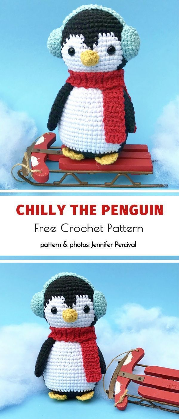 Photo of Chilly The Penguin Free Crochet Pattern
