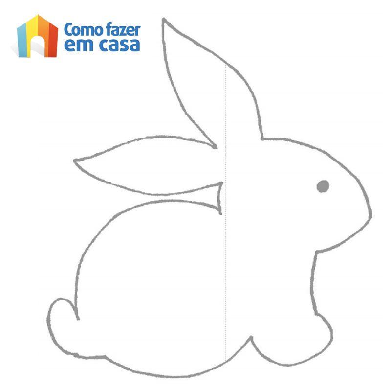 Decoração Aparador Atras Do Sofa ~ Como fazer decoraç u00e3o de móbile de coelhinhos para Páscoa Feltro e Molde