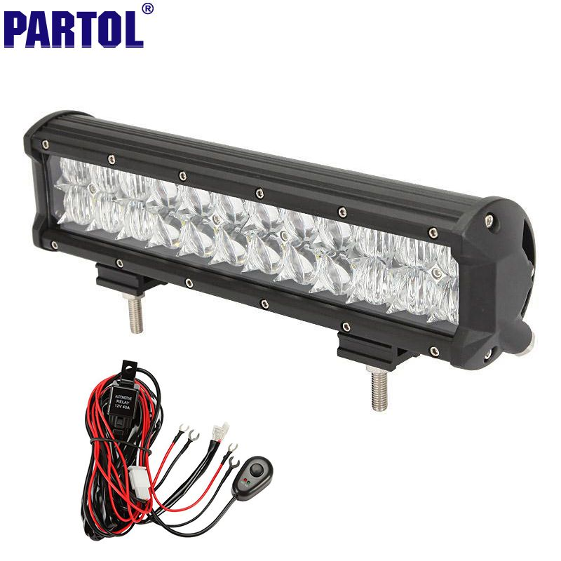 Cree chips 5d straight led light bar 12 120w combo beam dual row cree chips 5d straight led light bar 12 120w combo beam dual row car work mozeypictures Gallery