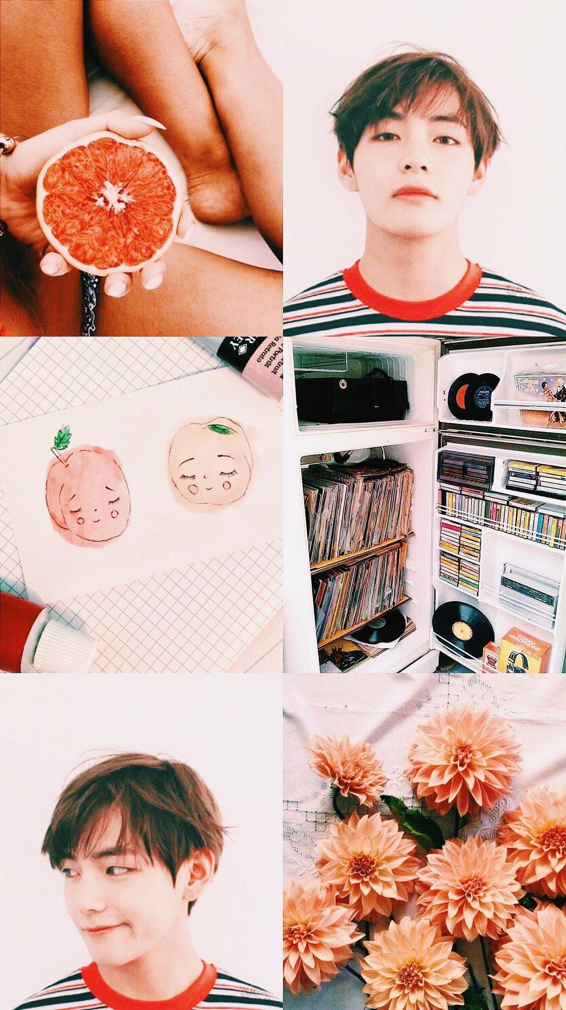 Taehyung aesthetic BTS Group Board Pinterest Summer