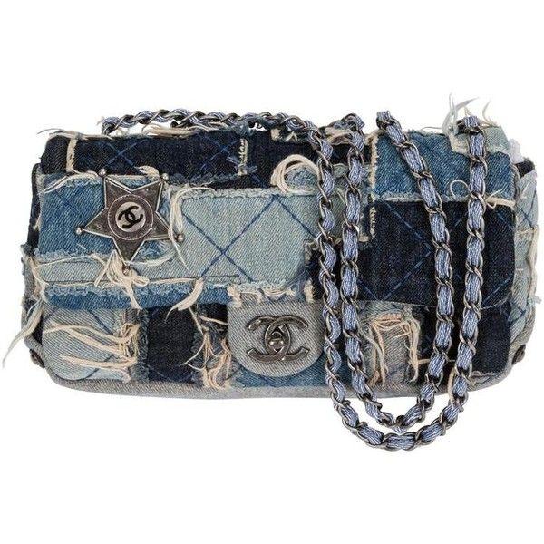 Preowned Chanel Denim Dallas Limited Edition Flap Bag Chanel